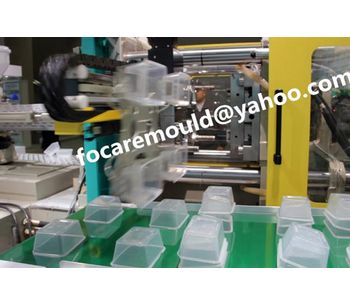 High speed thin wall mould