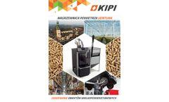 KIPI - Model 6 – 26 kW - Rotary Burner - Brochure