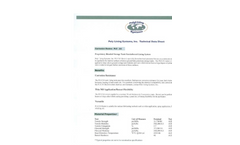 Model PLS 311 Series - Poly Lining Systems - Technical Datasheet