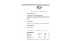 Model PLS 411 Series - Poly Lining Systems - Technical Datasheet
