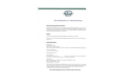 Model PLS 477PW Series - Poly Lining Systems - Technical Datasheet
