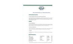 Model PLS 1776 Series - Poly Lining Systems - Technical Datasheet