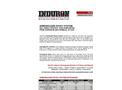 Induron - Model 85 - Induramastic Coating Brochure
