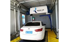 Touchless Car Wash Machine Single Arm