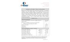 InTech - Model 72-10 - Polyester Resin - Datasheet