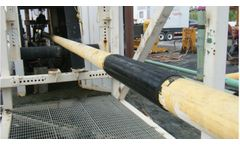 CompactRotoSonic Mounted on Fraste XL Sonic Drilling Trough 5 Meter Heavy Industrial Floor Video