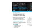Pump Watch - Web-Based Cellular Remote Monitoring - Datasheet