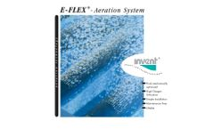 The INVENT E-FLEX Membrane Aeration System