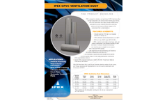 IPEX - Duct PVC & CPVC Ventilation System - Brochure