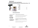 Centra-Guard - Double Containment Electronic Low Point Leak Detection System - Brochure
