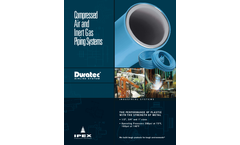 IPEX Duratec - Compressed Air and Inert Gas Distribution System - Brochure
