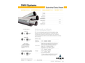 DWV Systems Submittal Data Sheet