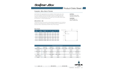 Back Panels - Datasheet
