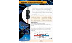 Philmac Universal Transition Coupling Bulletin - Information Bulletin