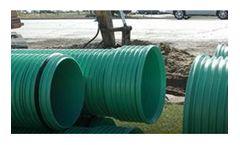 IPEX Ultra-Rib - Model OD - Open Profile PVC Pipe