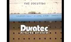 Duratec Airline - Your Compressed Air System for the 21st Century - Video