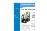 Vacuum Distillation - Industrial Solvent Recovery