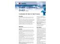Model D-014, D-016 - Combination Air Valve For High Pressures Brochure
