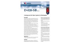 Model D-020SB - Underground Air Valve Brochure