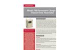 Accusonic - Model 798 - Permanent Clamp-on Transit-Time Flowmeter Brochure