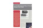 Models 7657/7658 - Low Profile Internal-Mount Transducers Brochure