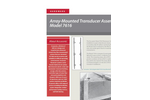 Accusonic - Model 7616 - Array-Mounted Transducer Assembly Brochure