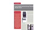 Accusonic - Model 7618 - Low Profile Vertical Array Transducer Brochure