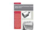 Accusonic - Model 7612 - Open Channel Transducer Assembly Brochure