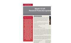 Accusonic - Model 7510P - Penstock Protection System Brochure
