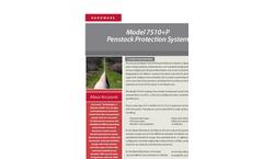 Accusonic - Model 7510+P - Penstock Protection System- Brochure