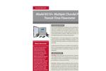Accusonic - Model 8510 - Multiple Chordal Path Transit-Time Flowmeter - Datasheet