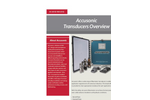 Accusonic Transducers Overview - Brochure