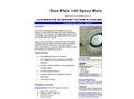 Dura-Plate - Model 100 - Epoxy Mortar Brochure