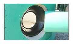 Model Z-LOK - Flexible Pipe to Manhole Connector