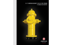 "American - Model B-84-B-5 - 5-1/4"" American Darling Hydrants Brochure"