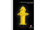 "American - Model B-84-B-5 - 5-1/4"" American Darling Hydrants Brochure"