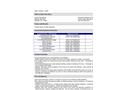 Avanti - Model AV-254 - Gelseal for Prepolymer Resin - Datasheet