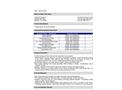 Avanti - Model AV-248 - Flexseal for Moisture Activated MDI-Based Polyurethane Resin - Datasheet