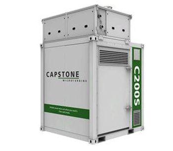 Capstone - Model C200S ICHP - Microturbine Power Generation Systems