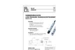 Model 313L `low pressure` spec sheet (PDF 140 KB)