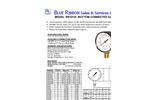 BR101D Utility Gauge spec sheet (PDF 246 KB)