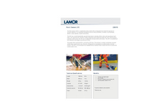 Lamor - Model LRC - 226010 - Brush Skimmer Rock Cleaner - Technical Specification