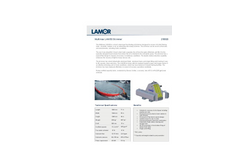 Lamor - Model Multimax LAM 50 - Brush Chain-Type Free-Floating Oil Skimmer - Technical Specification