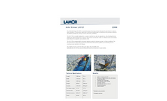 Lamor - Model LAS 125 - Arctic Skimmer Oil Recovery System - Technical Specifications