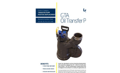 Lamor GTA SS Screw Pumps - Brochure
