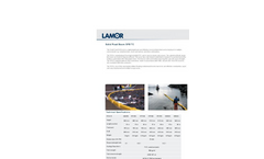 Lamor SFB Solid Floatation Oil Boom - Technical Specification