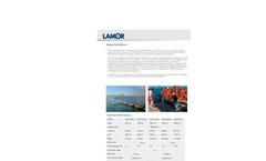 Lamor Heavy Duty Boom Technical Specification