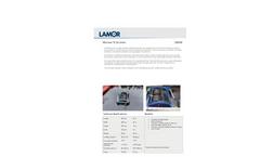 Lamor - Model Minimax 12 - Light, Portable Oleophilic Brush Skimmer - Technical Specification