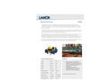 Lamor - Model Minimax 25 - Light-Weight Oil Skimmer Unit - Technical Specifications