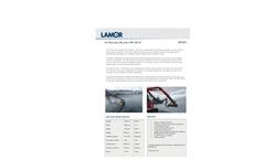 Lamor - Model LRB 150 W - Brush Skimmer Oil Recovery Bucket - Technical Specification